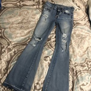 American Eagle Junior's size 00 Bootcut Jeans